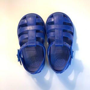 💙3/$30 Zara Kids Royal Blue Jelly sandals size 20